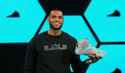 Nike подписа доживотен договор с Леброн Джеймс