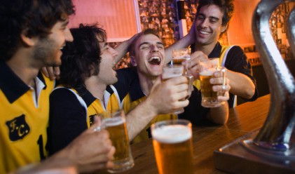 За силната връзка между спорта и алкохола