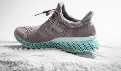 Adidas създаде 3D-принтирана маратонка от пластмаса от океана