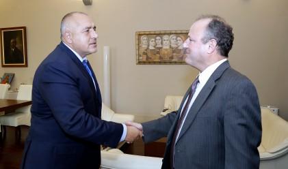 Бойко Борисов се срещна с посланика на САЩ Ерик Рубин