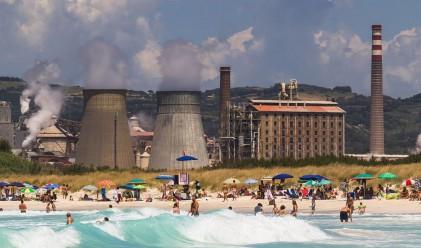 Токсичните бели плажове на Розиняно Солвей