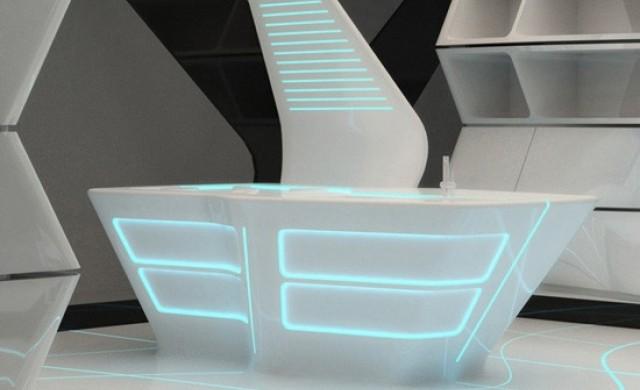 10 футуристични офис бюра