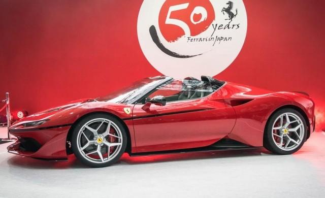 Неочаквано представиха новото Ferrari J50