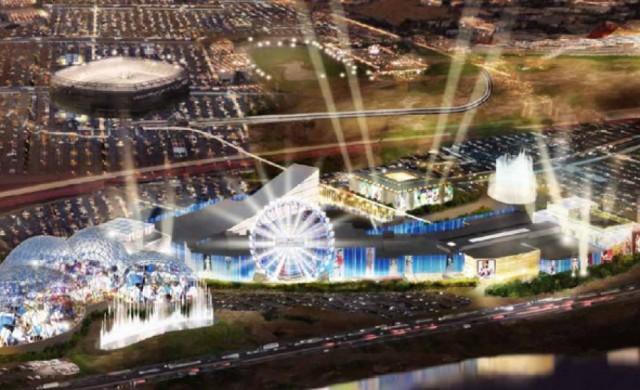 """Молът """"Американска мечта"""" ще бъде завършен през 2018 г."""