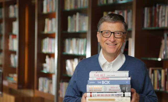 """Кои са любимите """"фанатици"""" на Бил Гейтс за 2016 г."""