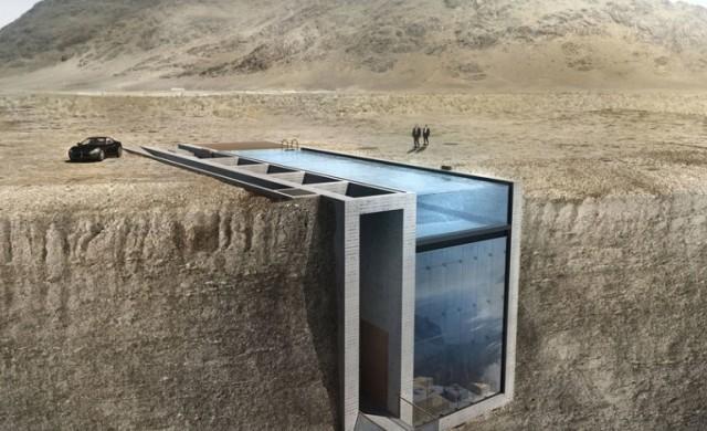 Изграждането на една от най-невероятните къщи започва през март
