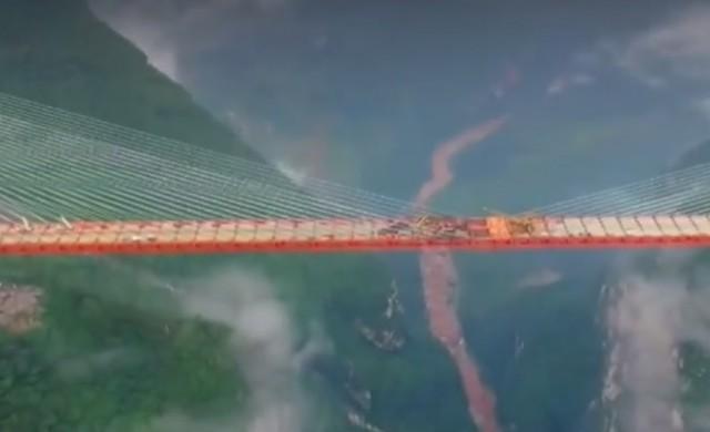В Китай откриха най-високия мост в света