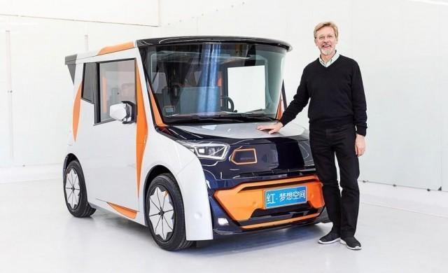 Най-странният електромобил в света