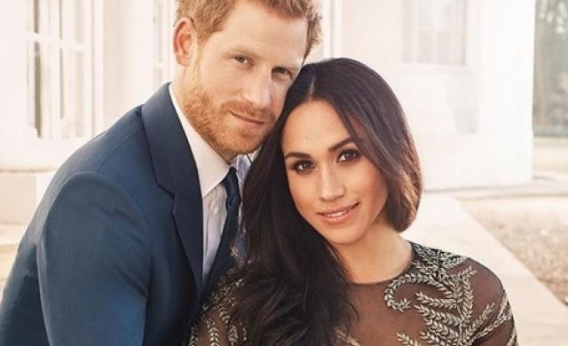Меган Маркъл избра британски марки за годежните си снимки с Хари