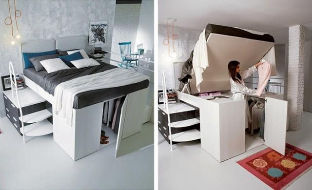 Умни мебели, с които малкото жилище е по-функционално