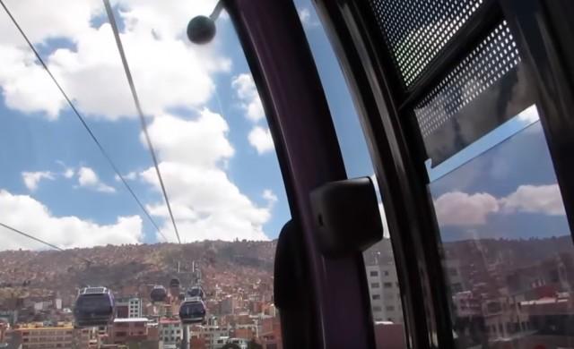 Този обществен транспорт работи при 3700 метра надморска височина