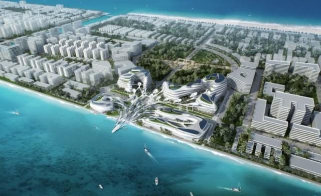 Футуристичен еко град ще се появи на Малдивите до 2021 г.