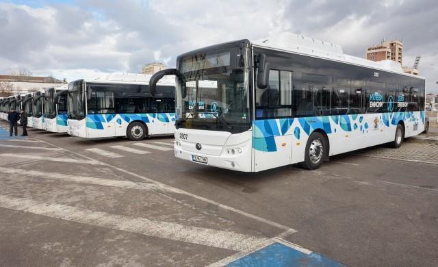 20 напълно електрически автобуса от днес кръстосват София