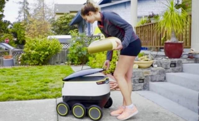 Роботите-куриери в САЩ набират популярност