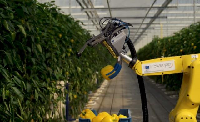 Този земеделски робот може да работи 20 часа на ден без почивка