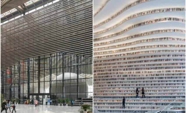 10 библиотеки, в които е трудно да се чете