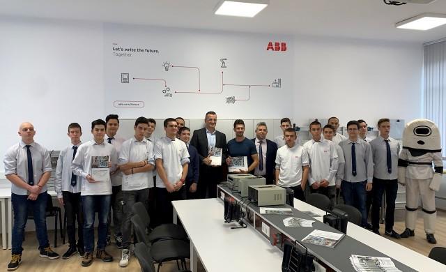 АББ България с втора обновена лаборатория в гимназия в Пловдив