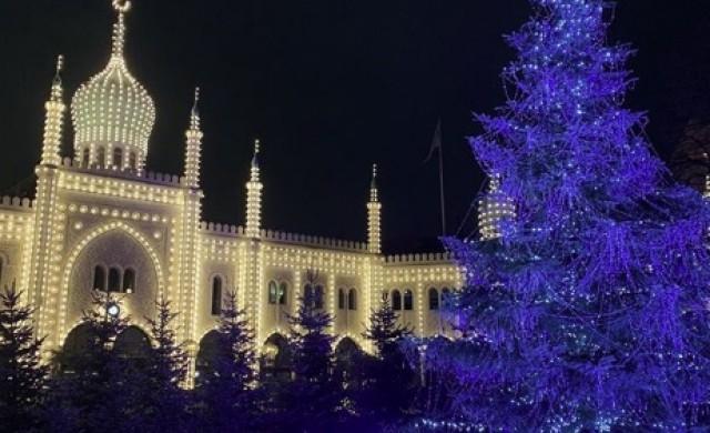 Най-красивата коледна украса в Европа (снимки)