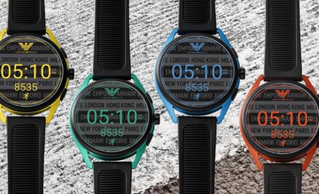 Какво умеят новите смарт часовници на Emporio Armani?
