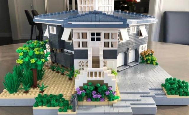 Искате ли реплика на вашия дом, създадена от Lego?