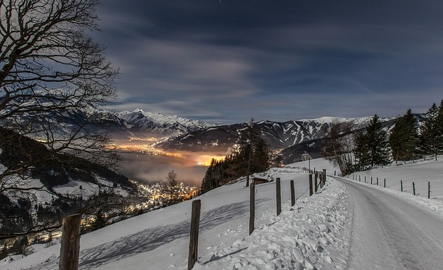 Девет места, които са удивително красиви през зимата