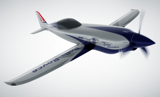 Roll-Royce представи скоростен електрически самолет