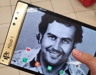 Братът на Пабло Ескобар представи сгъваем смартфон