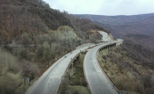 Завършват два от ремонтите на магистралите Тракия и Хемус