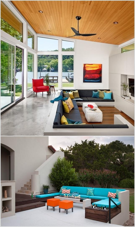 15 идей красивой встроенной мебели