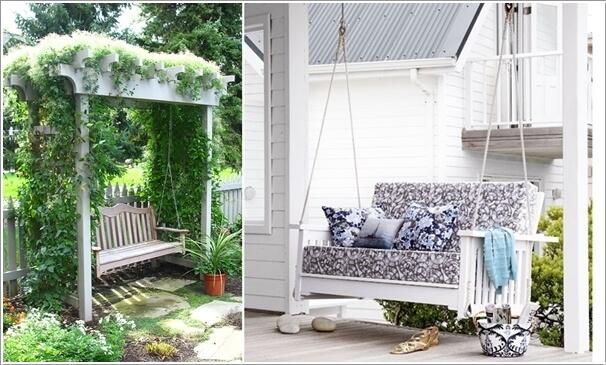 Несколько блестящих идей для маленькой террасы